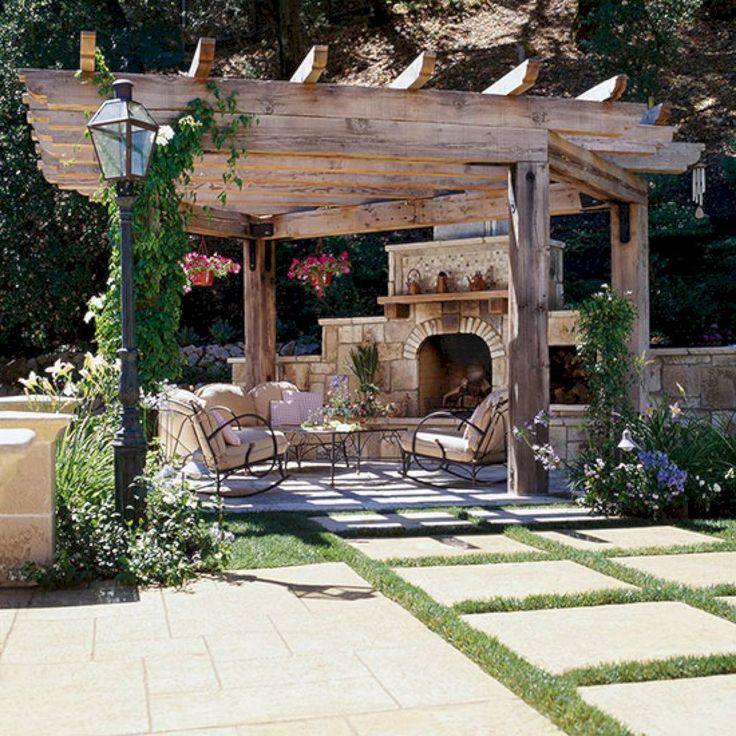 Awesome Backyards With Pools: Best 25+ Pergola Plans Ideas On Pinterest