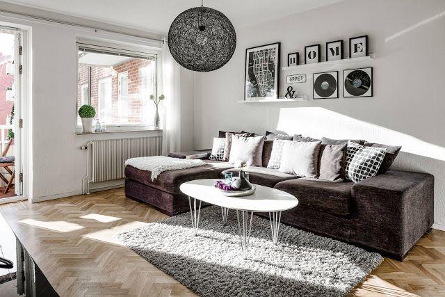 Blog wnętrzarski - design, nowoczesne projekty wnętrz: Jak urządzić małe trzypokojowe mieszkanie
