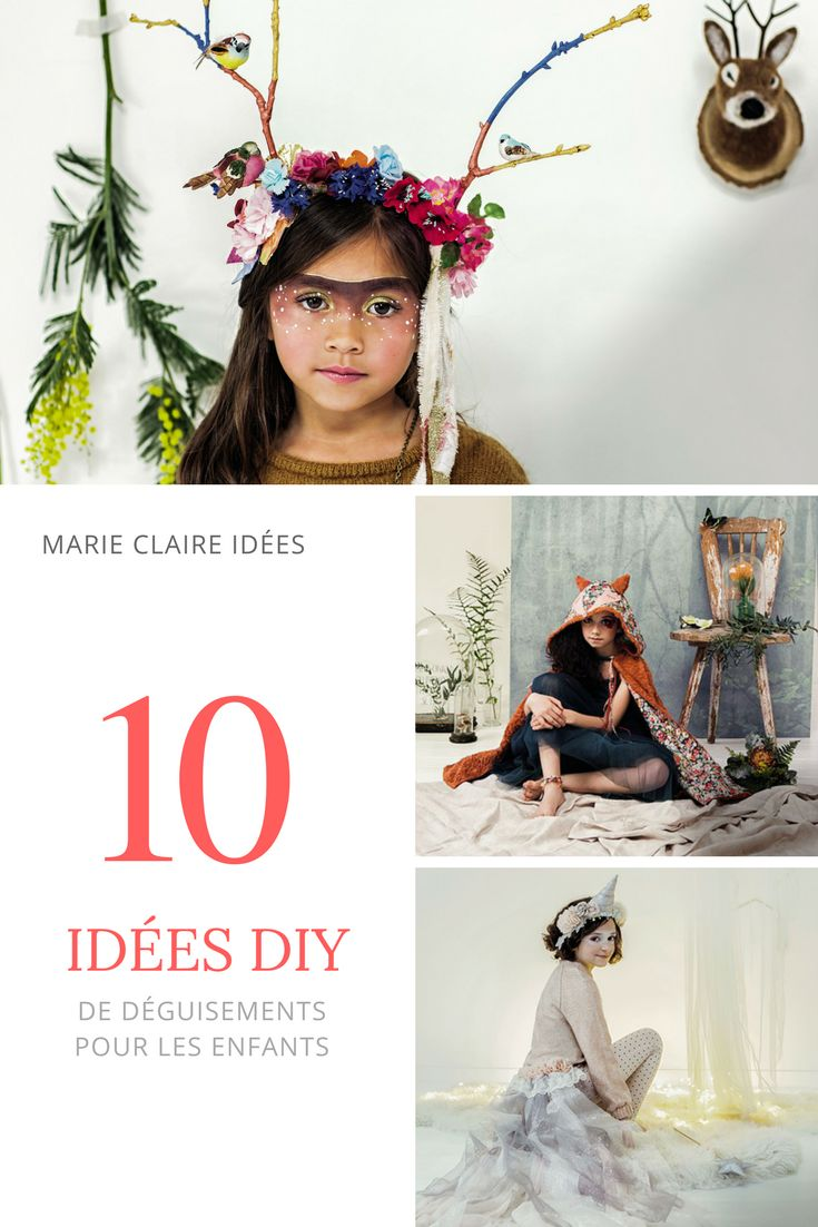 10 idées DIY de déguisements pour enfants à faire soi-même - Marie Claire Idées