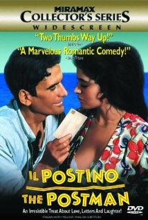 Italian postman learns to love poetry while delivering mail to a famous poet. And it's through poetry - not his own!! - that he woos, and wins the love of the most ♥beautiful woman in his village.