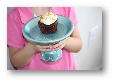 InspireMe Crafts: DIY Cupcake Stand