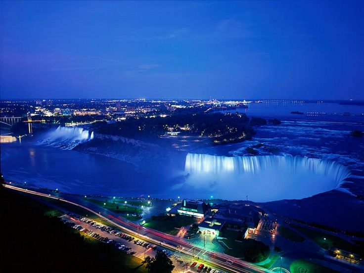 The falls at night!#GILOVEONTARIO