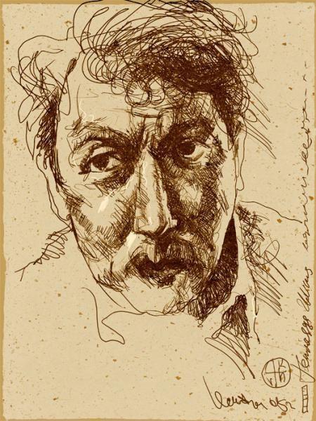 портрет - Хананов Владимир Анатольевич - - Arts.In.UA