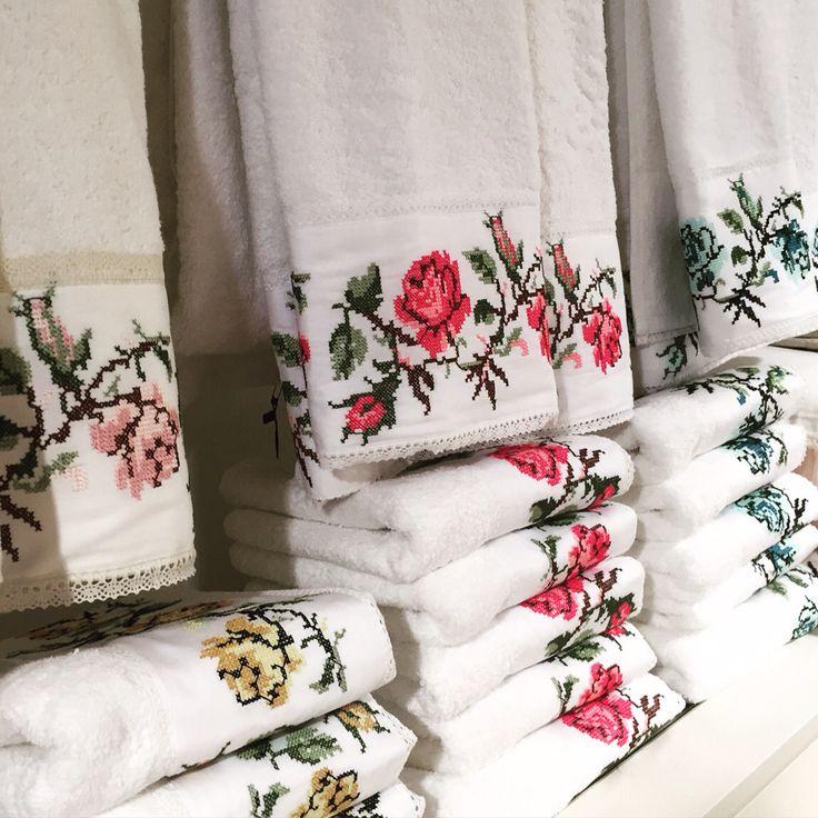 Dantell Atelier yeni havlu koleksiyonu // Dantell Atelier new towel series #towel #design #embroidery #dantell #lace #havlu #dantellatelier