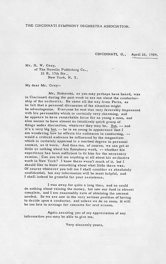 letter from Mrs C R Holmes, President of the Cincinnati - house cleaner resume
