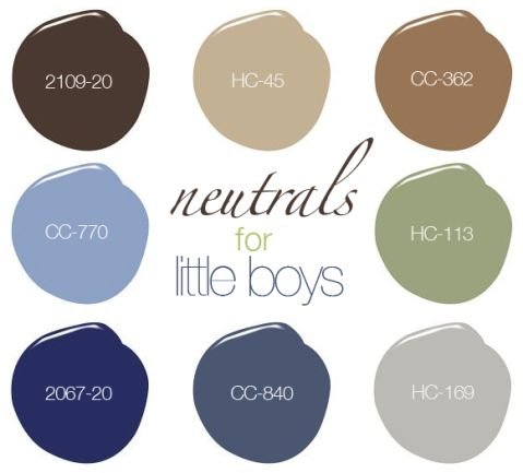 little boys for neutrals Nursery Rhymes Pinterest – Boy Room Colors