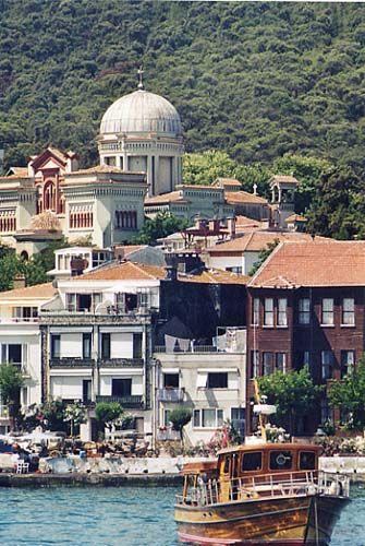 Burgazada-Istanbul, Turkey