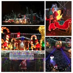 Holiday Lights Map: Denver Metro and Colorado 2016
