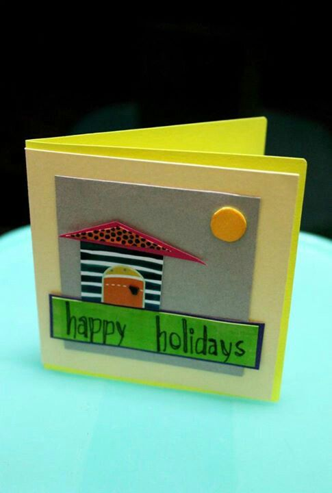 Miniature Holiday Greetings template!
