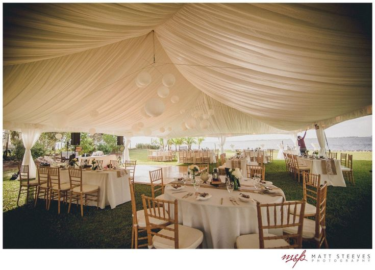 Lined Wedding Tent With Paper Lanterns Lindsay Rays Aviation Themed Edison Ford Winter Estates Designed By Shaw Fabulously Chic Weddings