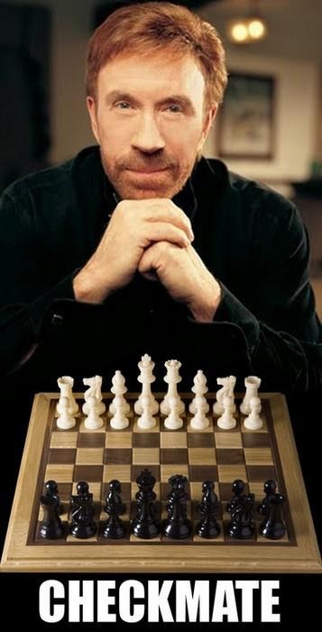 Chuck Norris Checkmate