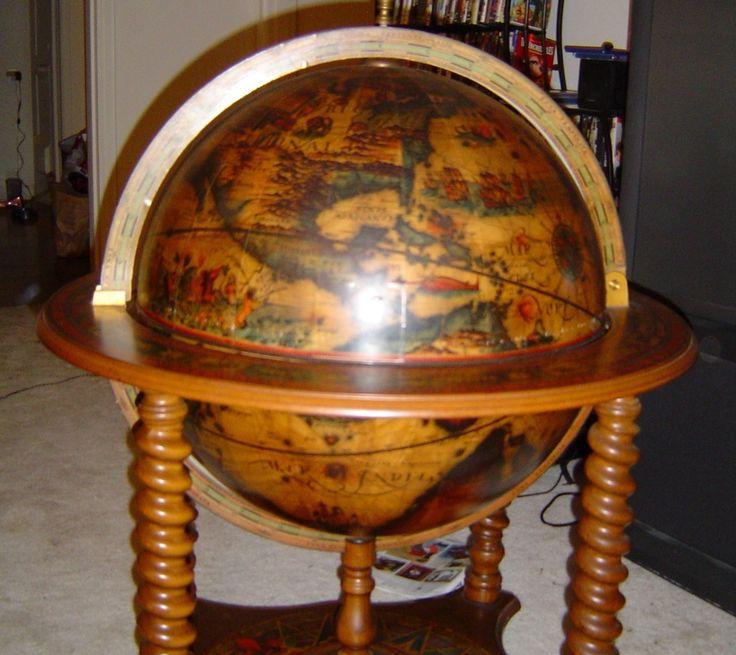Italian 1950 S Bar Globe