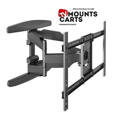 Articulating Cantilever Full-Motion Wall Mount for 40'' – 70 LED, LCD, OLED, Plasma, HD TV Flat Screen TVs up to 100lbs P6