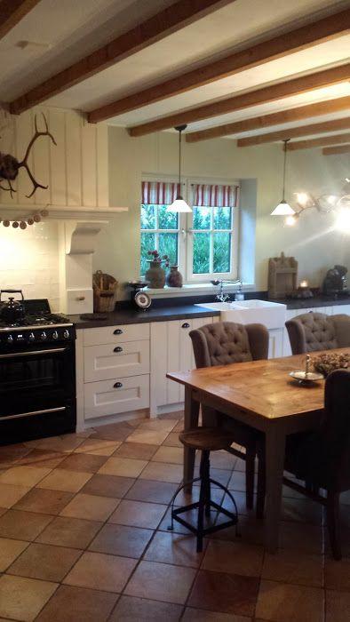 ... keuken nl landelijk kookeiland met fornuis wolf in landelijke keuken