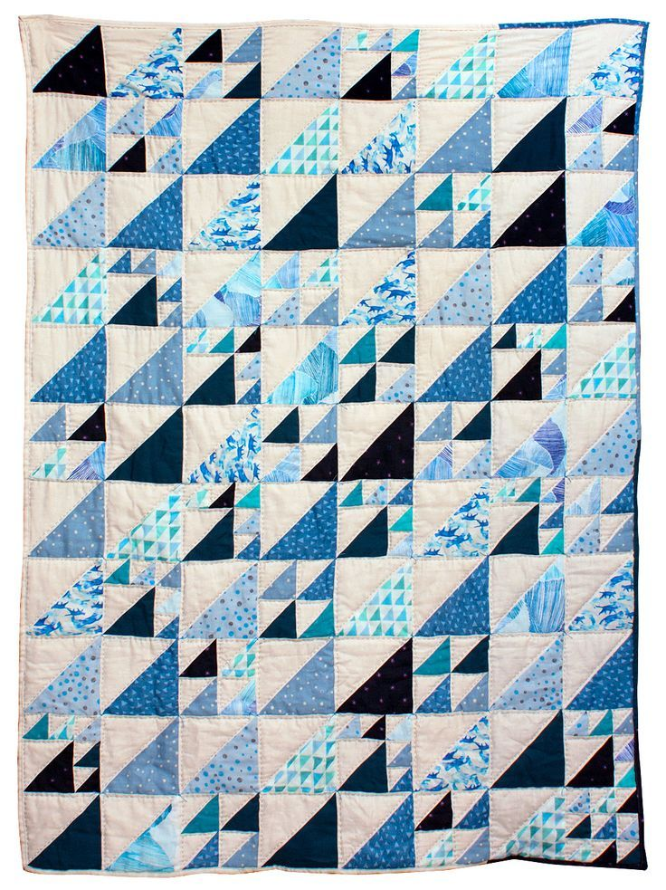 What a yummy soft and cozy double gauze quilt!
