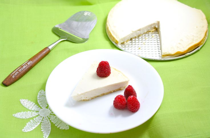 Finding a decent healthy cheesecake recipe is so difficult, but this one is the ABSOLUTE BEST. Only 64 calories a slice!