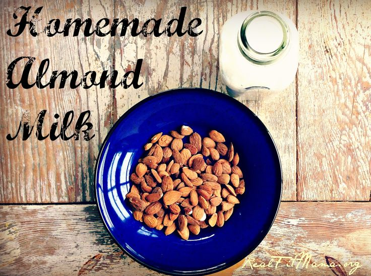 Have you made your own almond milk?  It's so easy to do, and it tastes delicious.  Click through to find a list of nutrients in almond milk.