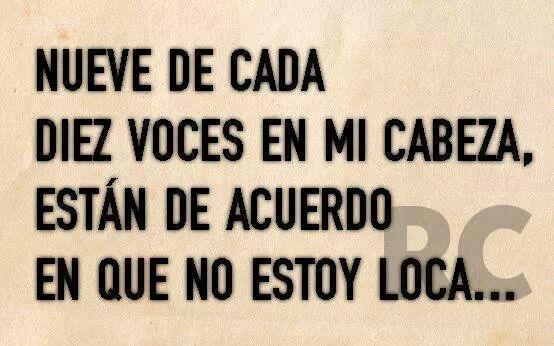 NO ESTOY LOCA...:P