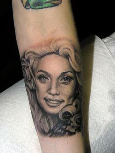 35 Amazing Dolly Parton Tattoos   NSF - Part 2