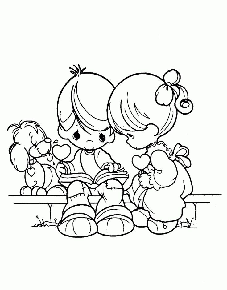 1438 best precious moments images on Pinterest Precious moments - fresh hello kitty xmas coloring pages