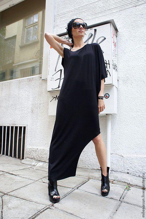 Купить Платье туника Mystery - платье, туника, длинное платье, длинная туника, летняя туника