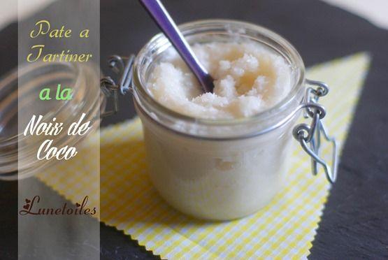 pâte a tartiner a la noix de coco Bonjour tout le monde, Une recette de pâte a tartiner a la noi...
