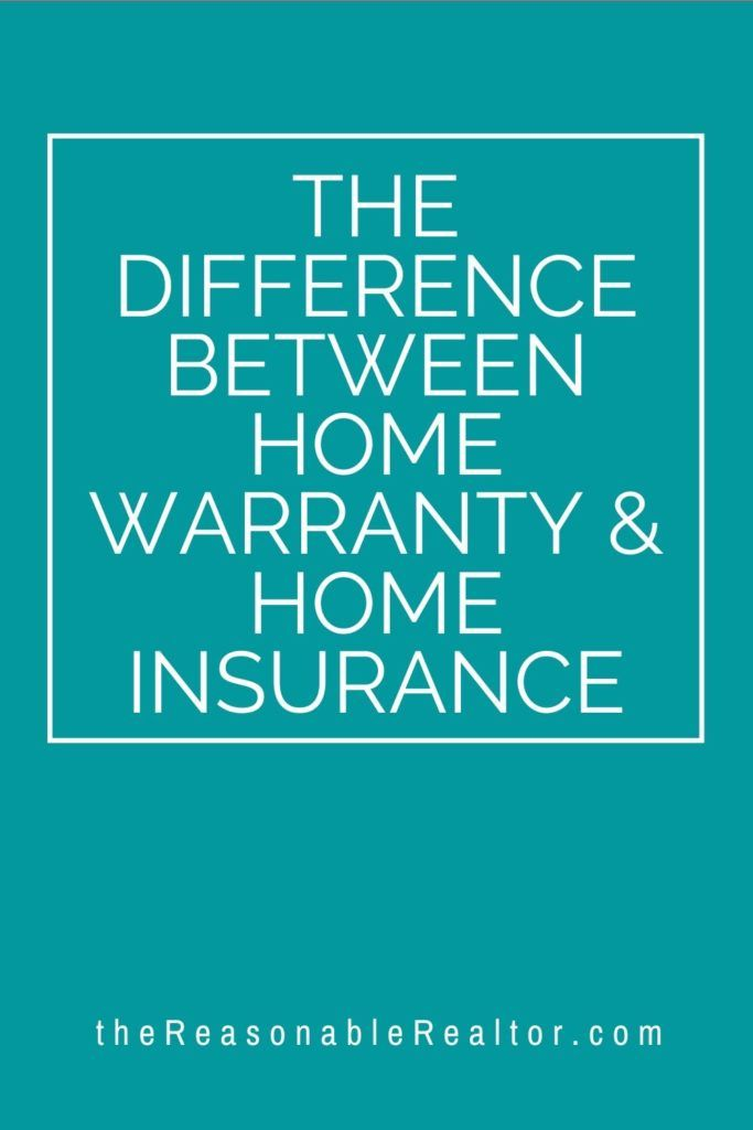 The Difference Between Home Warranty Home Insurance In 2020