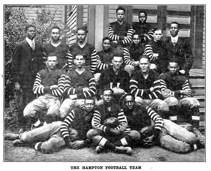 Hampton University football team 1921