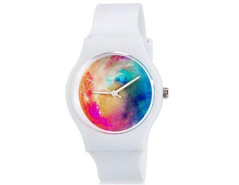 Willis mini 6018 Women's Quartz Analog Waterproof Wrist Watch (White)$8.99