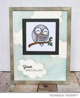 Technique Tuesday - Special Day Owl