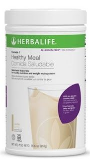 Herbalife Formula 1 ''Free From'' I drink two of these shakes every day. One for breakfast and lunch. I add additional protein (20g) to each one. Free From Soy, Lactose & Gluten  Ideal for those with allergies & food intolerance #bfitnfabulous