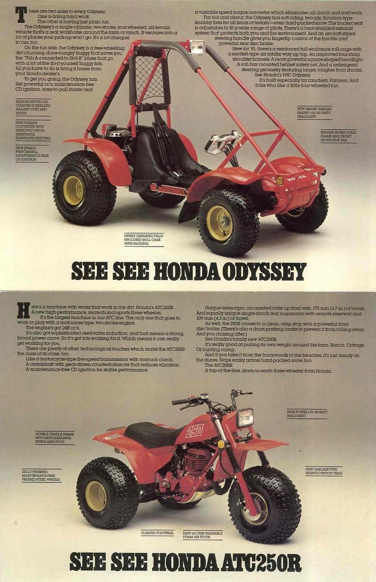 353 best vintage atv 39 s images on pinterest honda atc. Black Bedroom Furniture Sets. Home Design Ideas