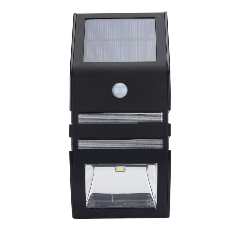 Outdoor Solar Powered Security Light (Black)  #consumer #relgard #electronics