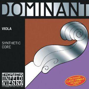 Dominant Viola C String 15-165 Weich by Dominant (Thomastik Infeld). $35.90. Thomastik Dominant Viola C String, 4/4 size, Weich gaugeSilver wound on perlon core