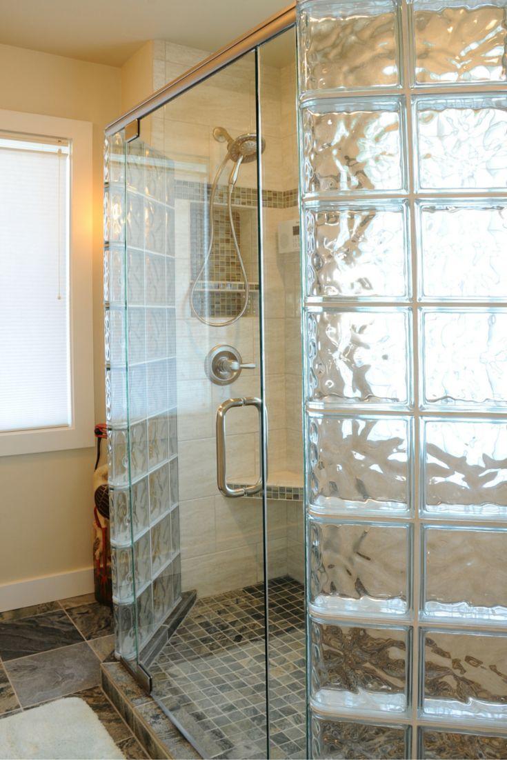 7 Myths About Glass Block Showers Bathroom Remodeling Ideas Pinterest Glass Block Shower
