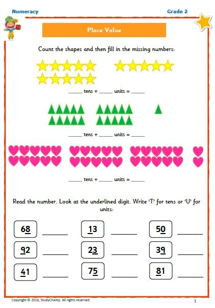FREE Grade 2 Place Value