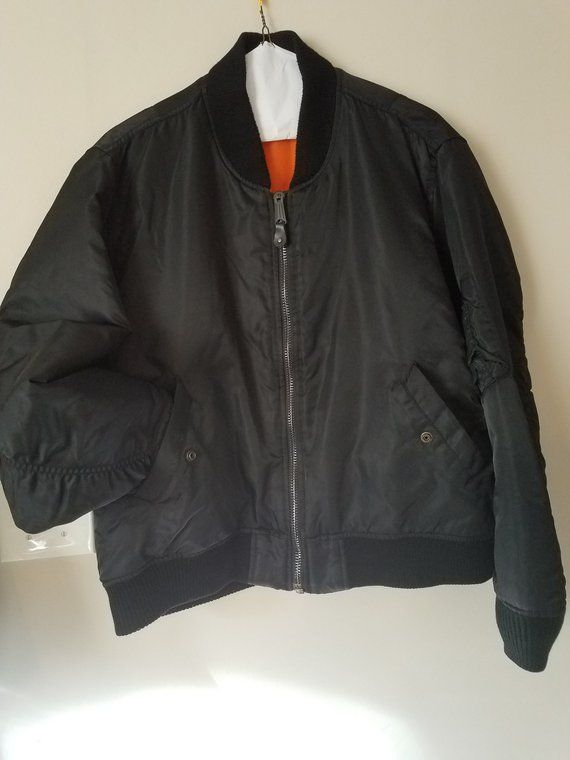 Vintage Spiewalk and sons authentic mens flight jacket black XL like new  very well made highly sought after bomber jacket usaf 7e3e9878572