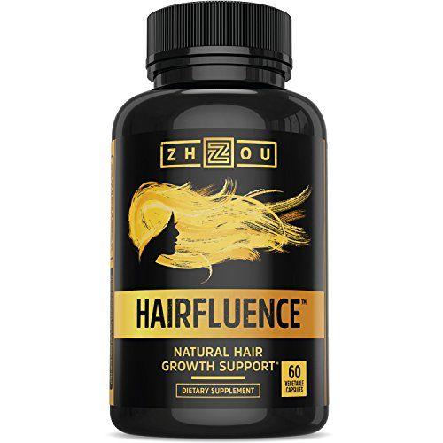 HAIRFLUENCE - All Natural Hair Growth Formula For Longer - http://freebiefresh.com/hairfluence-all-natural-hair-growth-review/