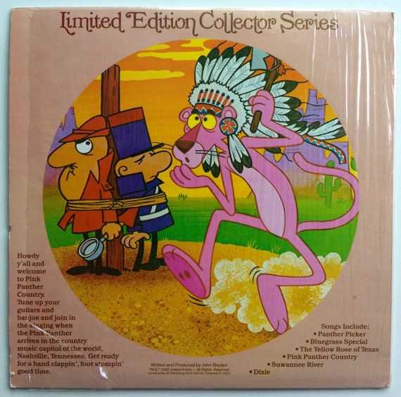 The Pink Panther Country Album Picture Disc LP by ThisVinylLife