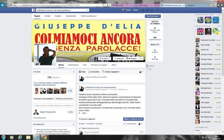 Iscrivendosi a questa pagina FB si riceveranno tutte le anticipazioni del libro umoristico in uscita a dicembre 2014