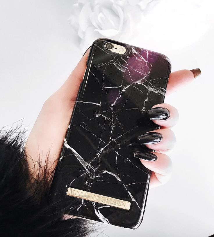 Black Marble by lovely @teresaoosa - Fashion case phone cases iphone inspiration iDeal of Sweden #marble #gold #fashion #inspo #iphone #marmor