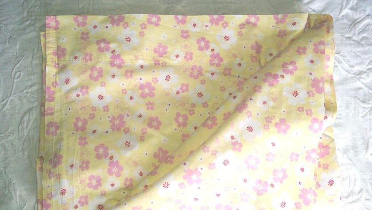 Pottery Barn Kids Hibiscus Floral Twin Flat Sheet Tropical Beach Yellow Pink #PotteryBarnKids