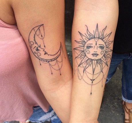 Irmãs de sangue ou de alma? Veja mais de 50 tatuagens para melhores amigas | Virgula