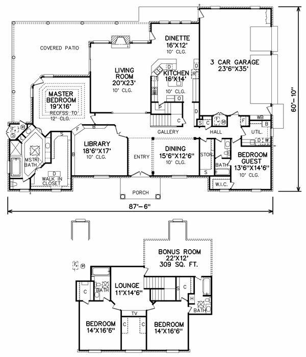 Best Dream Big Images On Pinterest House Floor Plans
