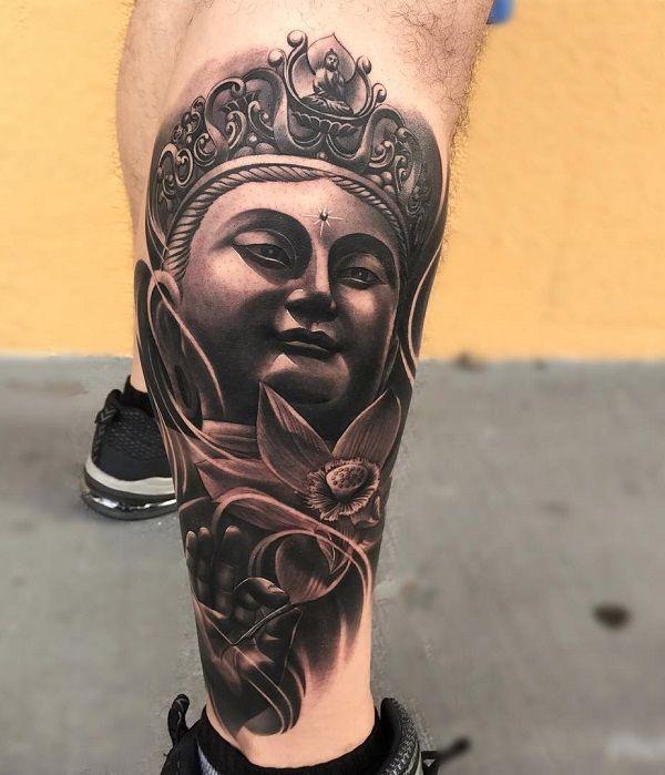 Wonderlijk 60 Inspirational Buddha Tattoo Ideas - Boeddha tatoeages SB-18