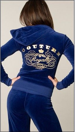 Juicy Couture Royalty of Couture Velour Tracksuit Regal JCT0239 $75.62