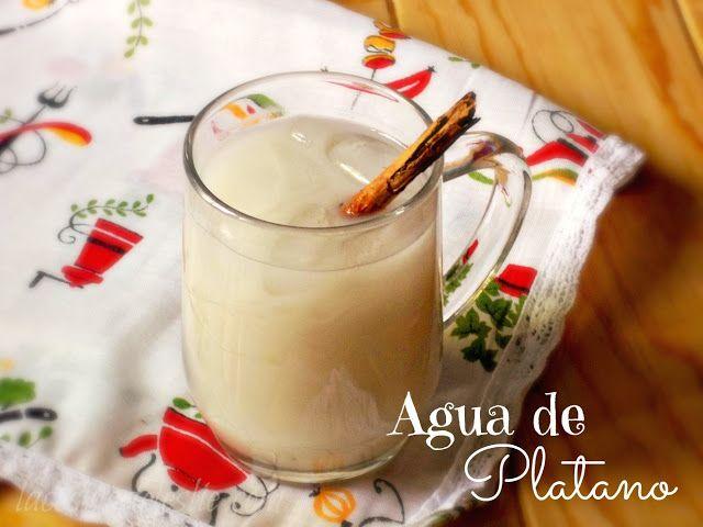 Going Bananas for Agua de Platano