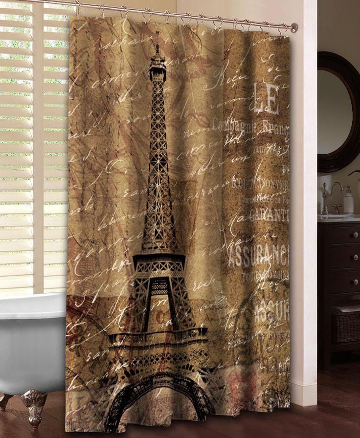 Paris Travel Shower Curtain Diy Bathroom Ideas French Bathroom And Paris Decor