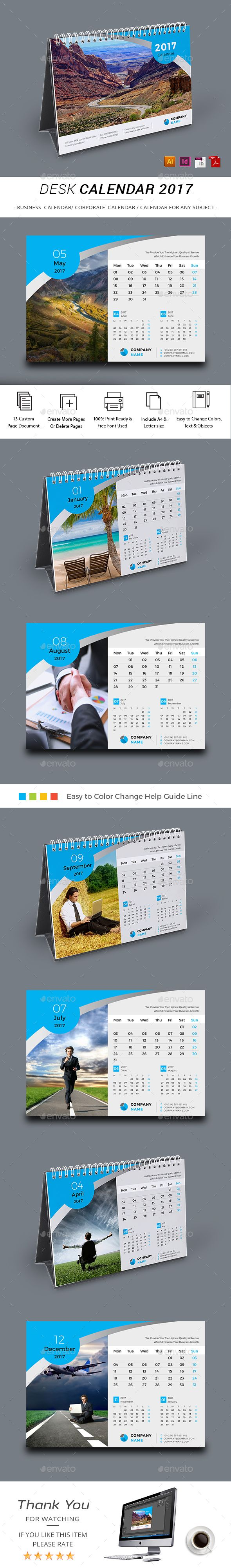 indesign calender templates
