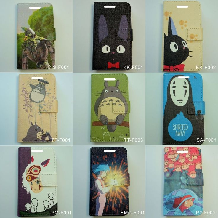 ANIME CASE: STUDIO GHIBLI, JAPAN LEATHER MOBILE/SMART PHONE CASE COVER